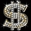 Sparkling Dollar Sign logo