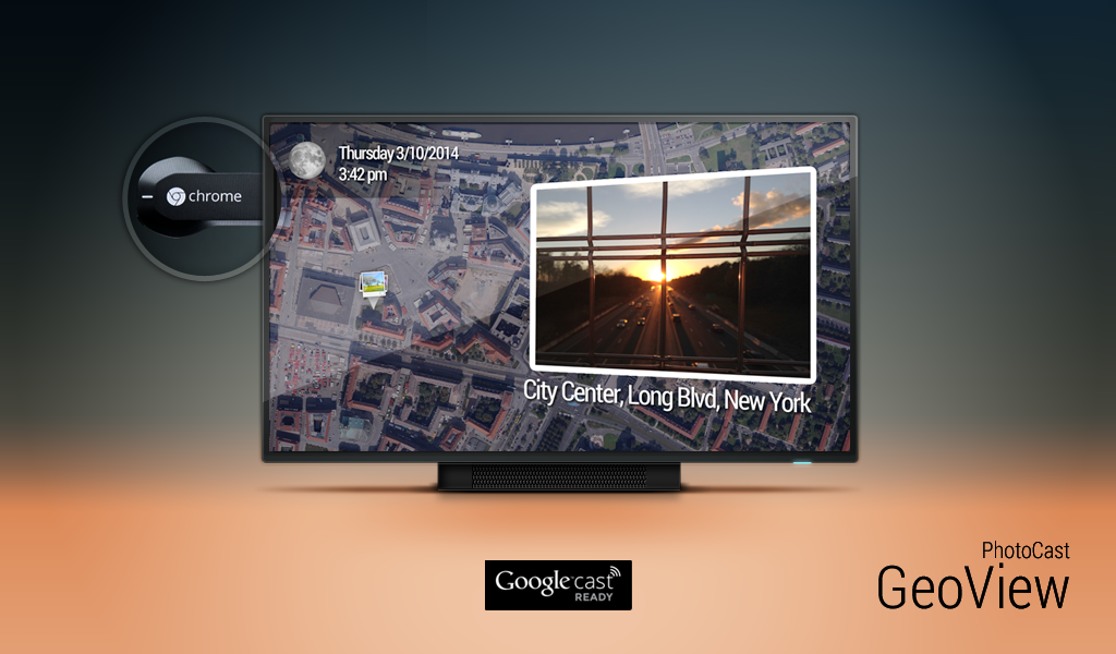 PhotoCast for Chromecast – Capture d'écran