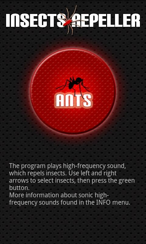 Insects repeller - screenshot