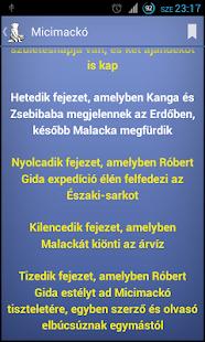 Micimackó, Micimackó kuckója - screenshot thumbnail