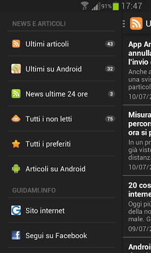 Guidami.info App
