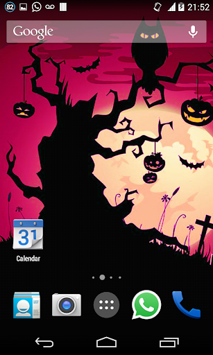 Halloween HD Live Wallpaper 3