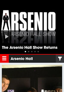 Arsenio Hall UpClose - screenshot thumbnail