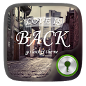 Love is back GO Locker Theme icon