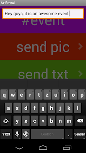 Selfiewall Messenger- screenshot thumbnail