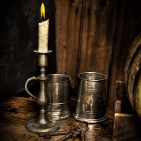 Keys by John Walton - Artistic Objects Antiques ( candle, tudor, keys, tankard, heritagefocus )