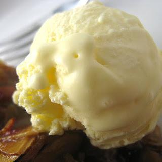 Crème Fraîche Ice Cream.