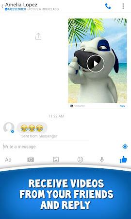 Talking Tom for Messenger 1.0 screenshot 29990