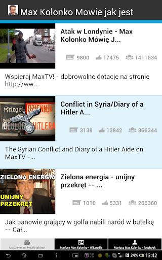 MaxTV Kolonko - Mówię jak jest
