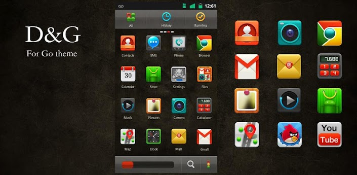 D&G GO LauncherEX Theme apk
