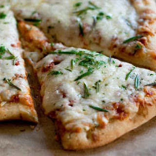 Roasted Garlic & Rosemary White Pizza