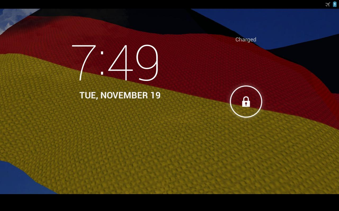 3D Germany Flag Live Wallpaper- screenshot
