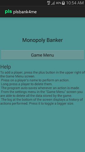 plsbank4me - Monopoly Banker