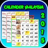 CALENDAR MALAYSIA 2015