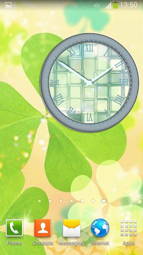 玻璃 時鐘 小工具