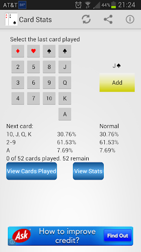 Card Game Probability