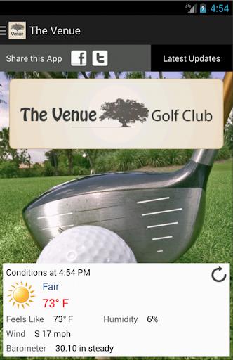 Gopher Golf App Demo