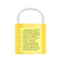Encrypted Notepad icon