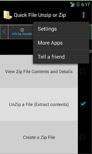 Quick File Unzip Or Zip QUOZ