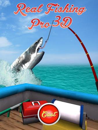 Real Fishing Pro 3D 1.3.2 screenshot 638732