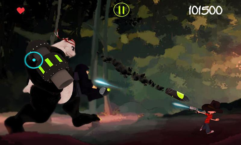 Jack Vs Ninjas: Adventure Game- screenshot