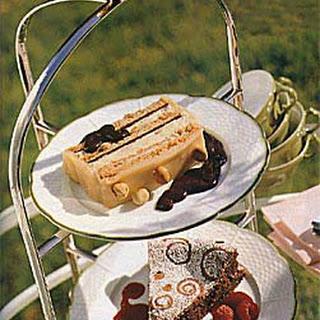 Passover Chocolate Torte with Raspberry Sauce