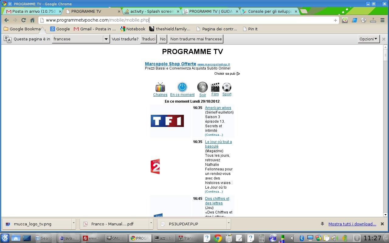 Programme Tv Fr - screenshot
