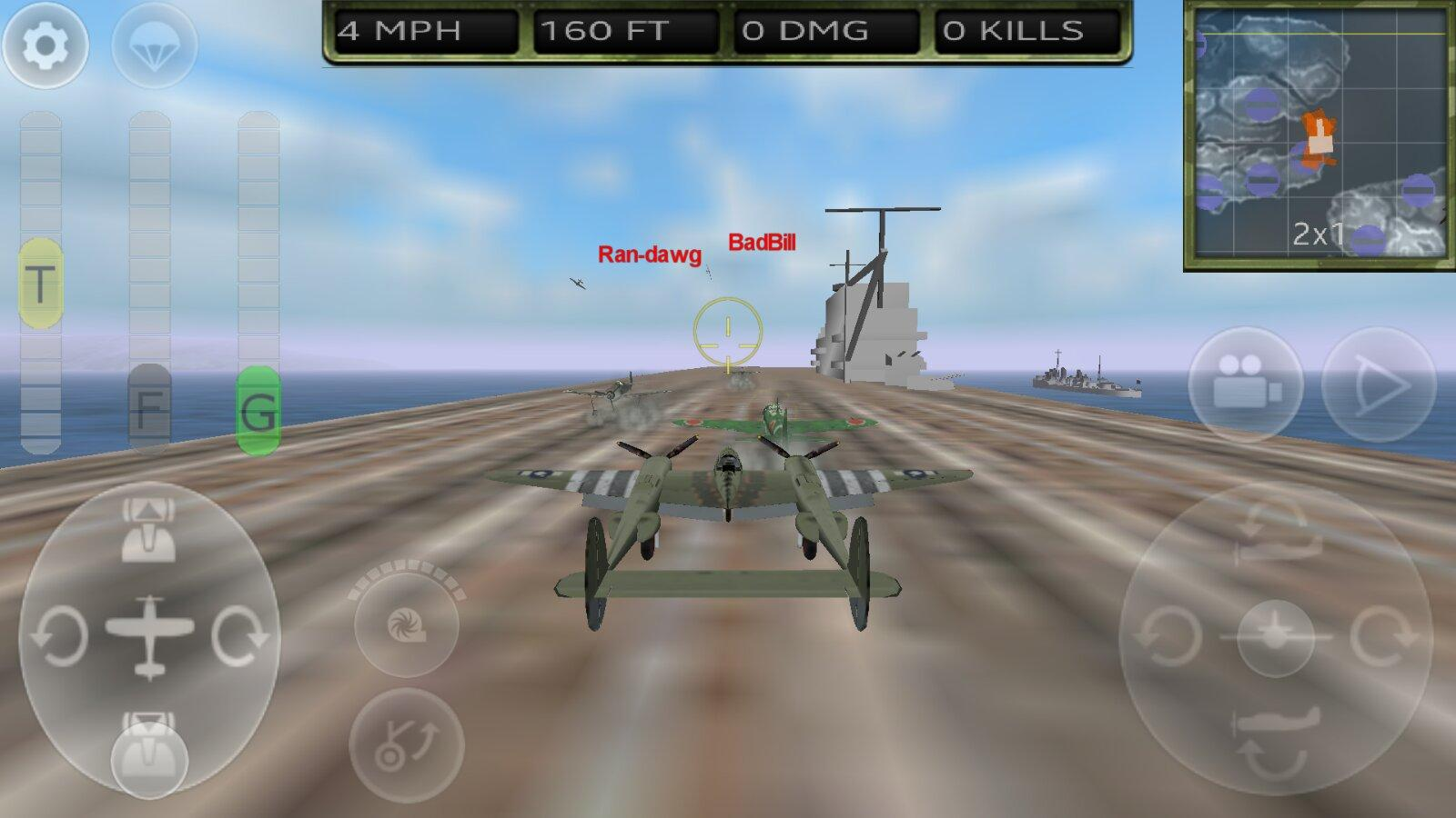 free 2 player airplane games