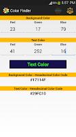 Screenshot of Color Finder