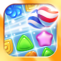 Wonderland: match-3 game icon
