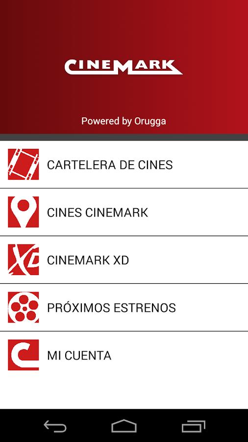 CINEMARK ARGENTINA- screenshot