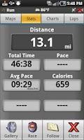 Screenshot of AllSport GPS PRO
