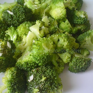 Broccoli with Lemon and Garlic