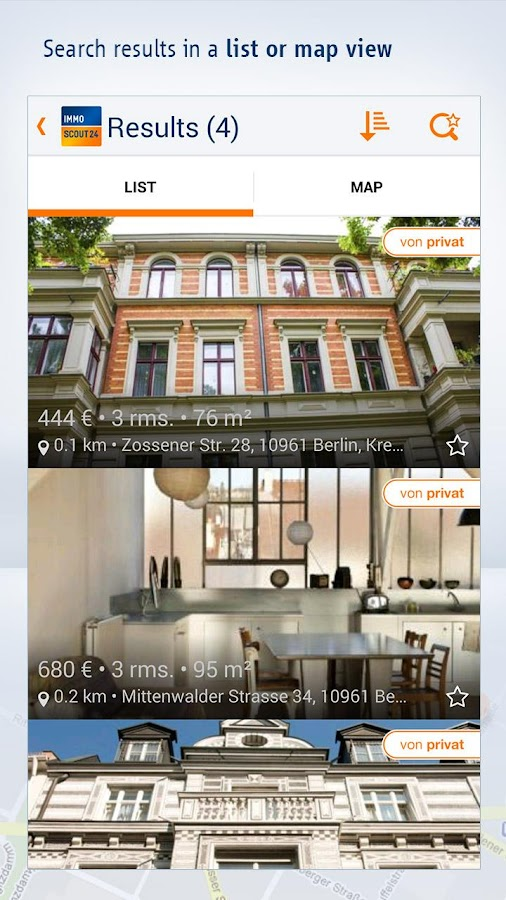 immobilien scout24 screenshot. Black Bedroom Furniture Sets. Home Design Ideas