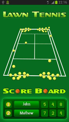 Lawn Tennis Score Board