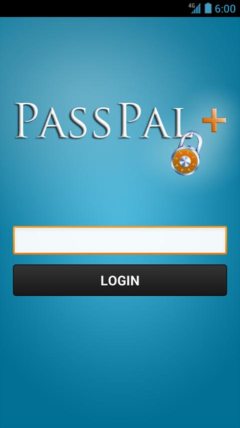 PassPal +- screenshot