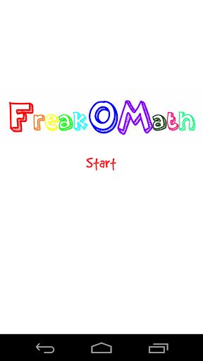 FreakOMath