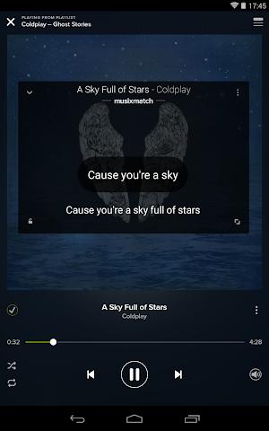 android Musixmatch Songtexte Screenshot 13