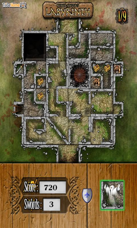 Reiner Knizia's Labyrinth- screenshot