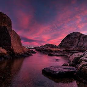 Pink sunrise  by Steffan Hestenes - Landscapes Sunsets & Sunrises