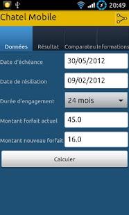 Chatel Mobile- screenshot thumbnail