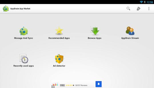[AppBrain App Market] Screenshot 2