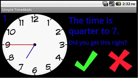 Simple Time4Kids- screenshot thumbnail