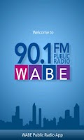 Screenshot of WABE Public Radio App