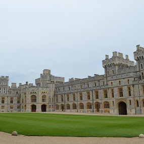 windsor castle by Santosh Vanahalli - Buildings & Architecture Public & Historical ( windsor castle,  )