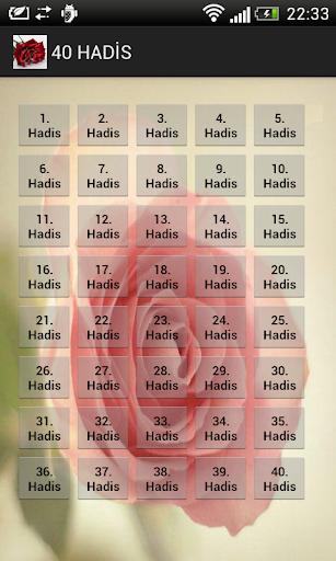 Türkçe - İngilizce 40 Hadis