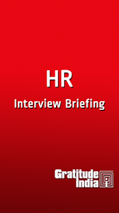 HR Interview Briefing- screenshot thumbnail