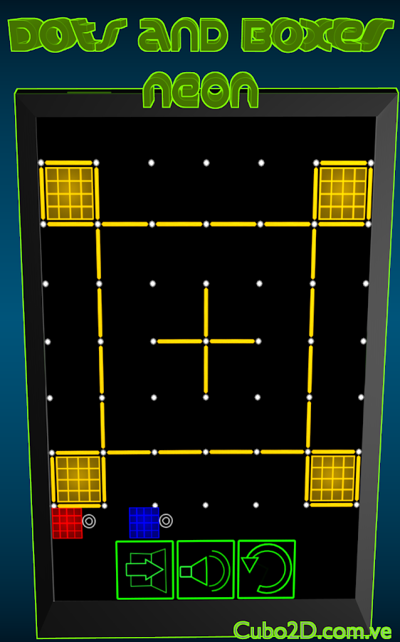 Dots and Boxes (Neon)- screenshot