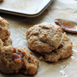 Apple Butter Drop Biscuits