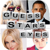Celebrity Quiz Guess star eyes
